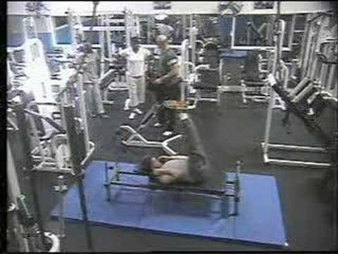 GYM accident