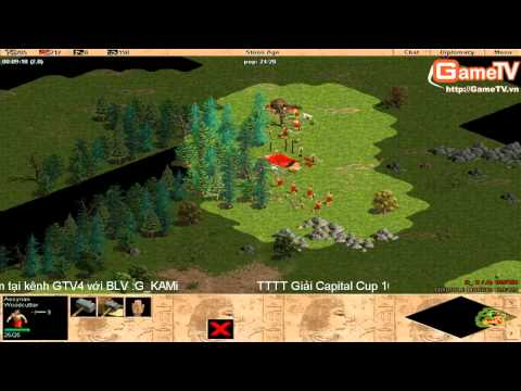 AOE | vòng 1/32 Capital cup 2014 G_HA vs G_No1 9/3/2014