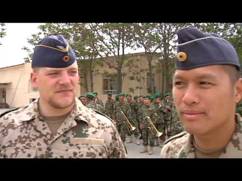 Mentoring the Afghan National Army Music Corps