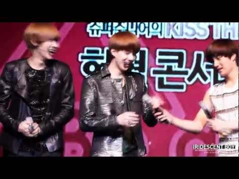 [fancam] 120616 Sehun dance focus + Backflip @ KTR open concert