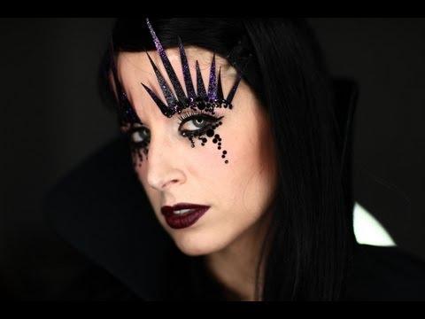 Makeup Tutorial Halloween Dark Witch