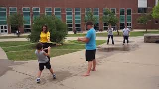 Giant Water Balloon Slingshot was Popular with Students at STEAMfest 2018