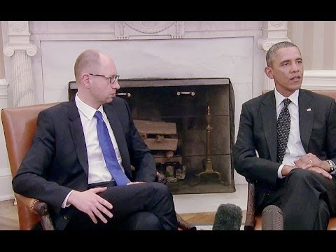 President Obama's Bilateral Meeting with Prime Minister Yatsenyuk of (Ukraine)