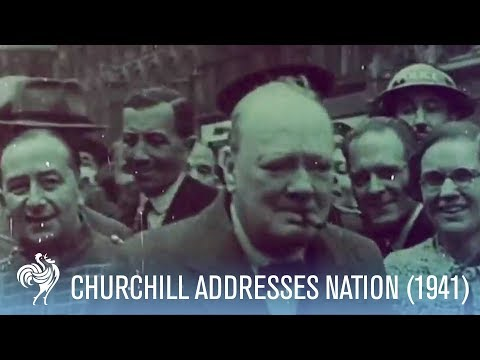 Winston Churchill Speech on The Blitz