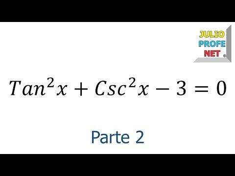 Ecuación Trigonométrica (Parte 2 de 2)