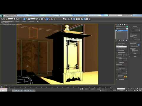 3ds Max Tutorial Pt. 12 - Interior Lantern Scene