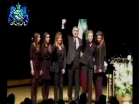 Memorial Ceremony For Prince Alireza Pahlavi jan 23,2011