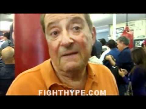 BOB ARUM: HE DOESN-T WANT GOLDEN BOY TO BE INVOLVED IN ANY WAY