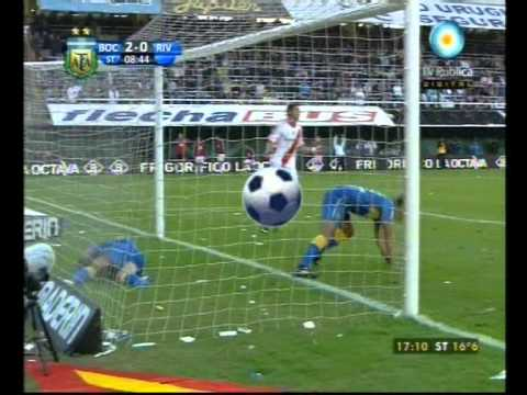Boca Juniors 2 - 0 River Plate - Torneo Clausura 2011