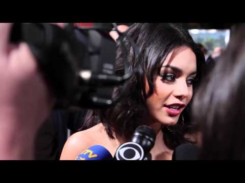 Vanessa Hudgens 'Journey 2' Movie Premiere Interview