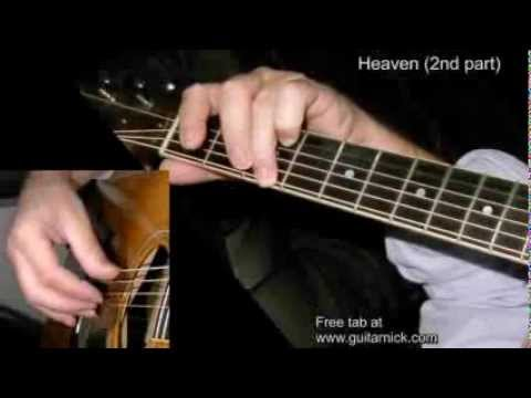 Heaven (2nd part) by Nicola Mandorino - fingerstyle acoustic guitar WITH TAB! Learn how to play