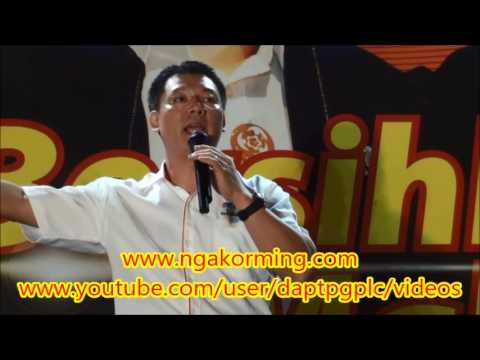 倪可敏 霹雳行动党大选座談会 2013-4-28 Part 1/3