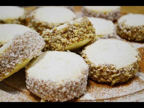 ПЕЧЕНЬЕ (Пирожные) АЛЬФАХОРЕС |  Нереально вкусное! | Alfajores |  Cookies/ sandwich cookies - UCQs4874BKxh8isLix6jgp-w