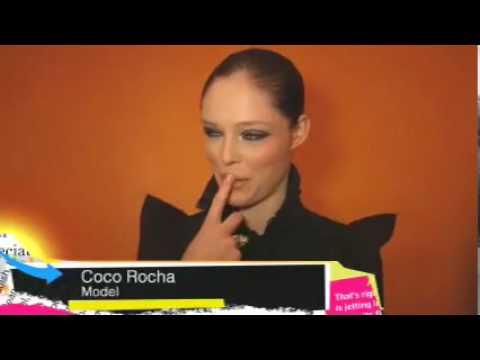 January 22, 2010 Coco Rocha Vintage Karl Lagerfeld Diane Von Furstenberg