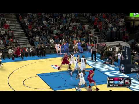 NBA 2K12 Gameplay: Chicago Bulls vs. OKC Thunder (Xbox 360/PS3/Wii/PC)