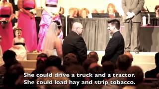 Father of the Bride Gives the Most Touching Speech