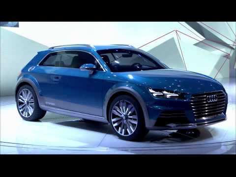 Fotos und Video vom Audi allroad shooting brake