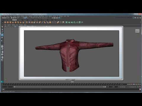 Modeling and retopologizing a jacket - Part 1: Shrink wrapping a sleeve and torso