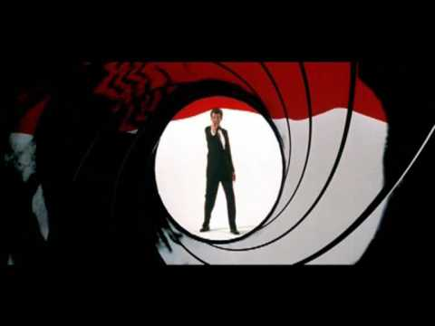 James Bond 007 - Intro sequence collage from 1962-2006