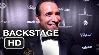 The Artist - Golden Globes Backstage Interviews - HD Movie