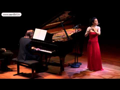 Sooyun Kim, Juho Pohjonen: Poulenc, Sonata for flute and piano