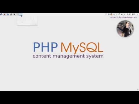 1   PHP & MySQL CMS intro