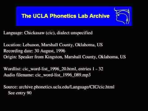 Chickasaw audio: cic_word-list_1996_089