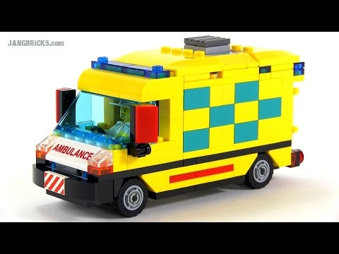 LEGO City custom Ambulance MOC