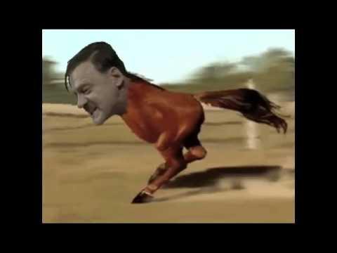 Hitler the Retarded Running Horse