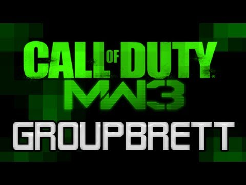 MW3 First AC130 in Search and Destroy P90 - Groupbrett2