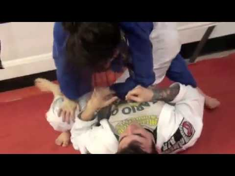 Romance On The Jiu-Jitsu Mats: Boyfriend Proposes To His Lady While Putting Her in Triangle Choke