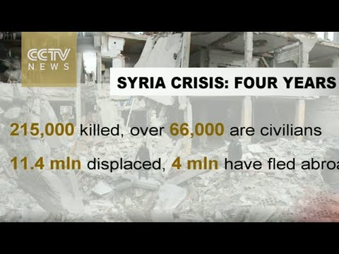 Syria enters fifth year of bloody civil conflict