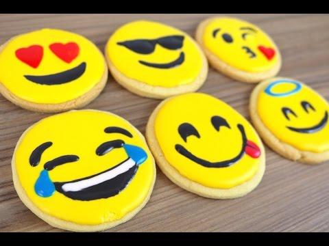 How To Make Emoji Cookie Biscuits | CarlyToffle
