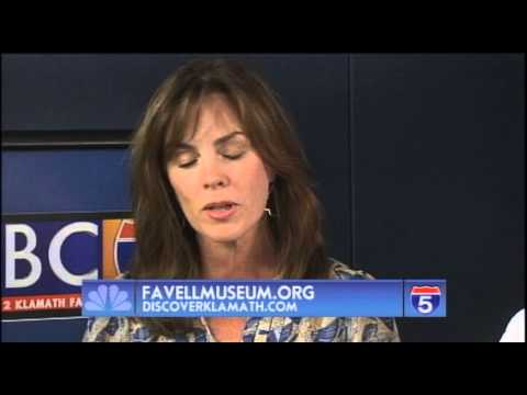 Jim Chadderdon - Discover Klamath & Heidi Biggs - Favell Museum