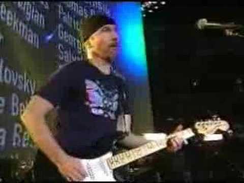 U2 - MLK + Where The Streets Have No Name (2002 Super Bowl Live)