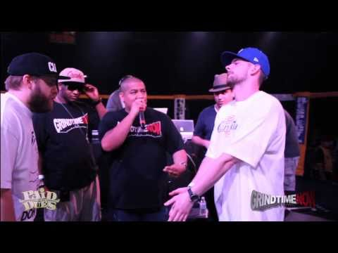Grind Time Now / Paid Dues presents:  Real Deal vs DirtBag Dan