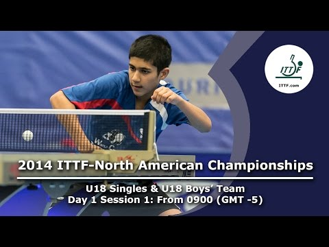 2014 ITTF-North American Championships (U18 Singles & U18 Boys' Team)