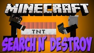 Minecraft SEARCH AND DESTROY Minigame Server