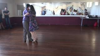 Club de Tango Workshop Demonstration 1