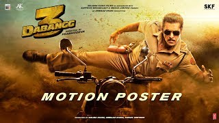 Dabangg 3 Motion Poster