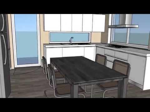 Progetto Cucina soggiorno | Beppe Liotta