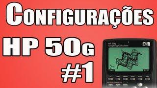 Curso HP50g Aula 1 - configura��es - YouTube