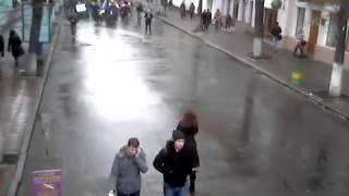«Хто не скаче, той москаль». Студенты Житомира вышли на улицы