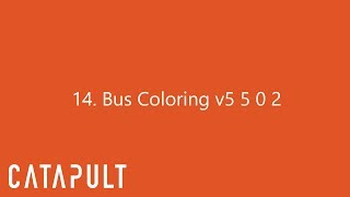 Bus Colouring