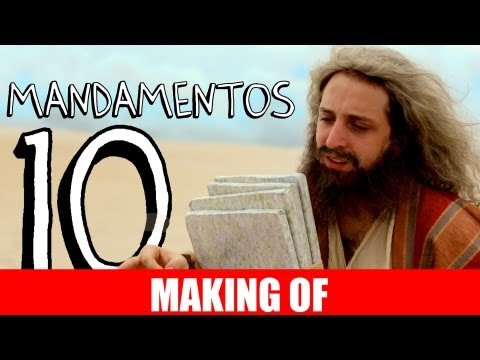 MAKING OF - 10 MANDAMENTOS