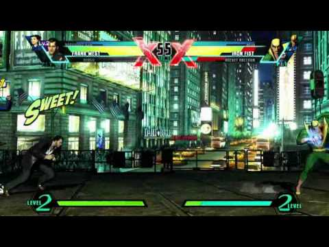Frank West, Rocket Raccoon Ultimate Marvel vs. Capcom 3 gameplay
