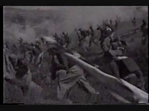 Batalla de Puebla 5 de Mayo Cantando el Himno Nacional mexicano vs la Marsellesa
