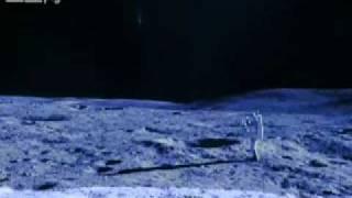 月球上的UFO和外星人 -