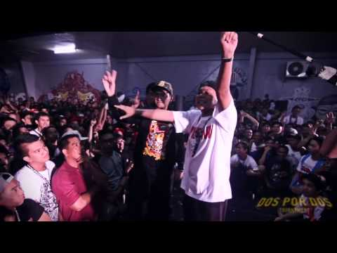 FlipTop - Loonie/Abra vs Shehyee/Smugglaz @ Dos Por Dos Tournament -gyIxD5K4lUo