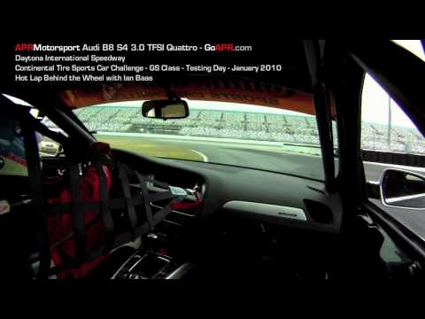 APR Motorsport 2010 Audi B8 S4 3.0 TFSI Hot Lap at Daytona